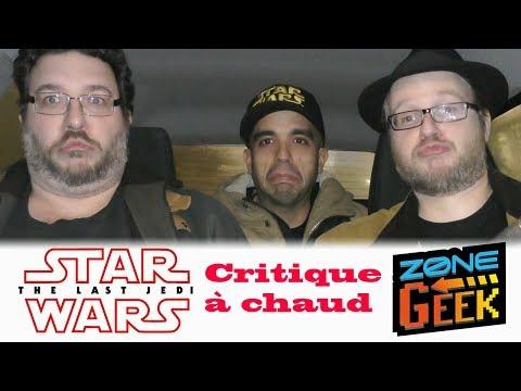 STAR WARS 8 : LES DERNIERS JEDI - zone geek