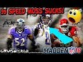 99 SPEED SCARY FAST MOSS IS NOT SCARY AT ALL! MUT 18 ENRAGED PLAYER REVIEW | MOST FEARED FULL GAME