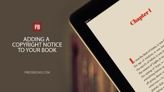 Video Adding a Copyright Notice to Your Book download MP3, 3GP, MP4, WEBM, AVI, FLV Juni 2018
