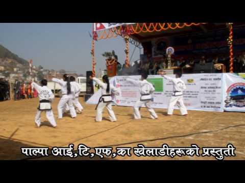 Palpa itf Taekwondo Program at tansen