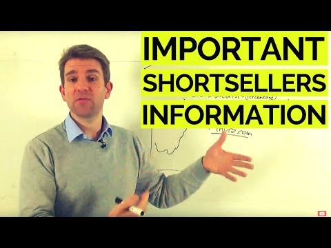IMPORTANT SHORT SELLERS INFORMATION 👇👇