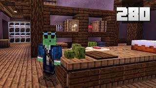 Let's Play Minecraft - Ep.280 : Realistic Kitchen Prep!