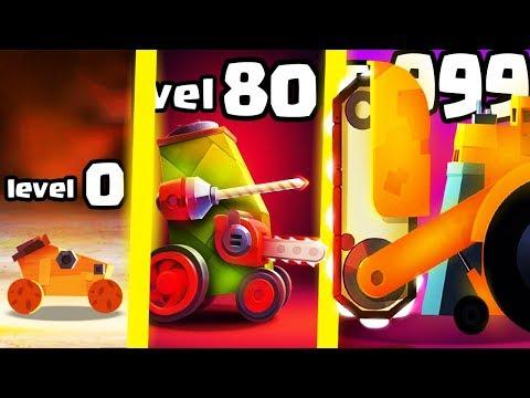 HOW TO BUILD THE STRONGEST ROBOT CAR EVOLUTION? (9999+ HIGHEST LEVEL) l Crash Arena Turbo Stars