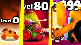 IS THIS THE MOST STRONGEST ROBOT CAR EVOLUTION? (9999+ HIGHEST LEVEL) l Crash Arena Turbo Stars