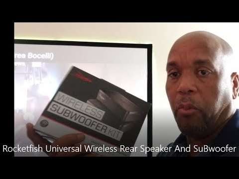 Universal Wireless Sub-woofer And Rear Speaker Kit - Rocketfish