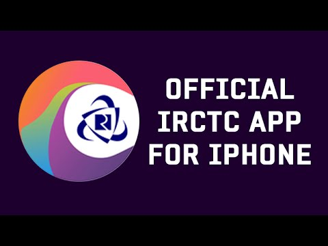 IRCTC Official App For iPhone (Demo)