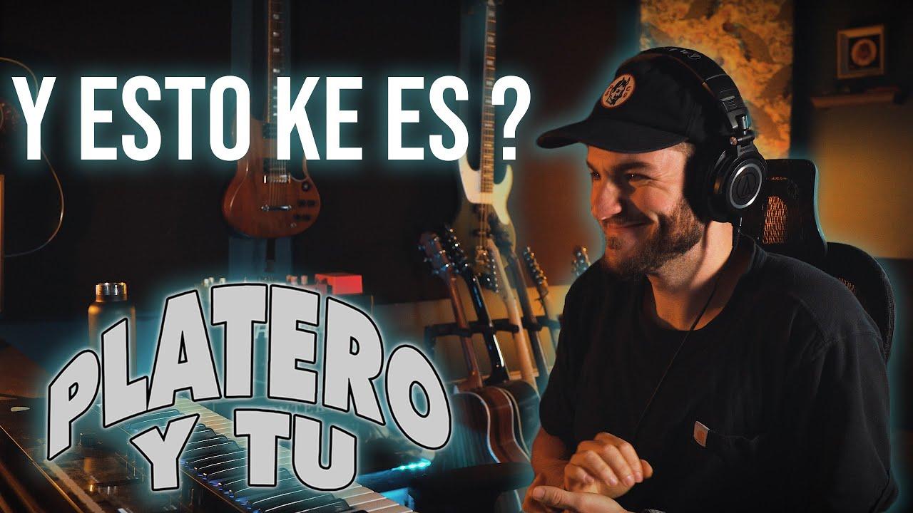AMERICANO REACCIONA A Platero y Tu - El roce de tu cuerpo