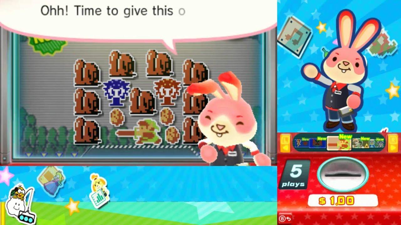 Playing Nintendo Badge Arcade (Collectible Badge Center) :D - YouTube