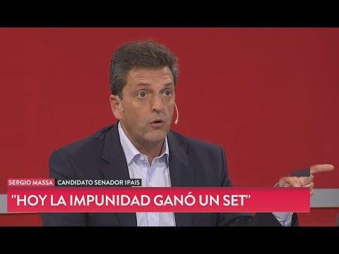 """Massa sobre De Vido: """"La impunidad ganó un set"""""""