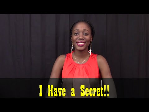 I Have a Secret!! | Moments of Love