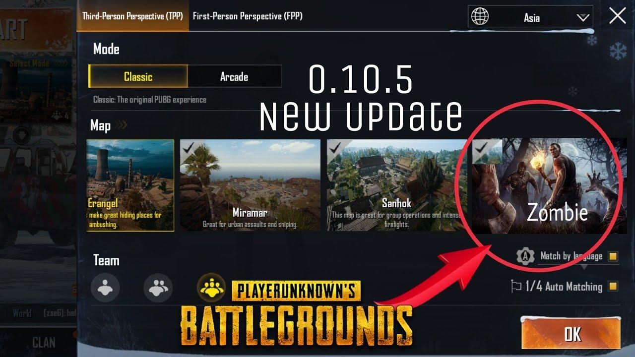 pubg mobile zombie mode beta version download
