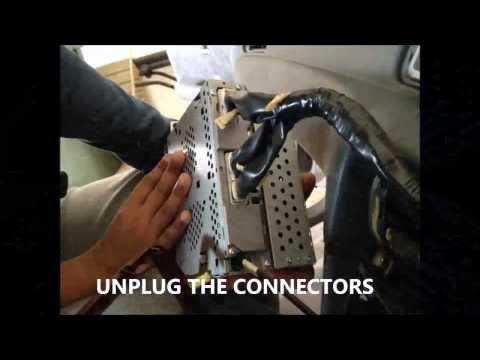 Replace Camry 2001 car radio - YouTubeYouTube