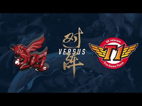 AHQ vs. SKT | Group Stage Day 8 | 2017 World Championship |