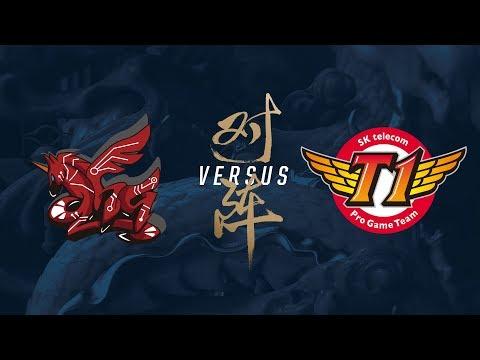 AHQ vs. SKT | Group Stage Day 8 | 2017 World Championship | ahq e-Sports Club vs SK telecom T1