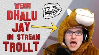 Wenn Dhalu Jay im Stream TROLLT! [HD] PietSmiet & Dhalucard [H1Z1 im PietStream]