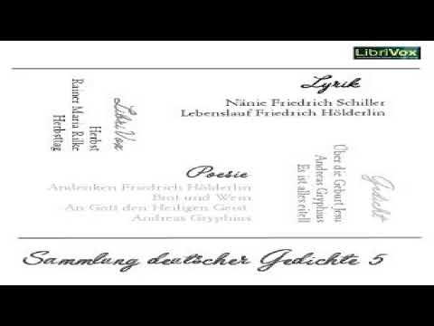 Sammlung Deutscher Gedichte 005 Various Anthologies Audiobook Full Unabridged German