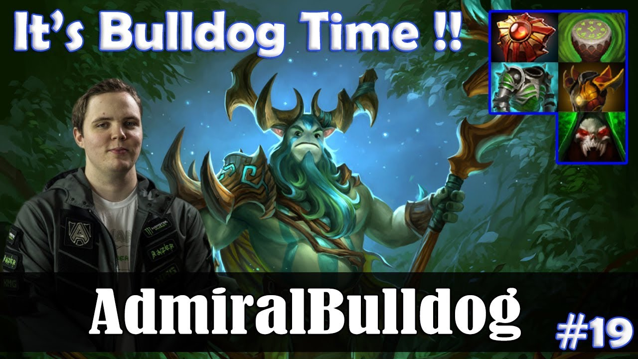 admiralbulldog - nature's prophet offlane | it's bulldog time