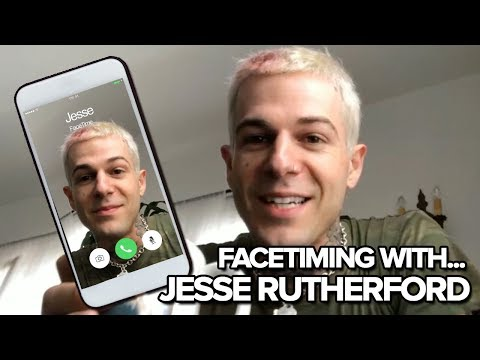 FaceTiming with... The Neighbourhood's Jesse Rutherford