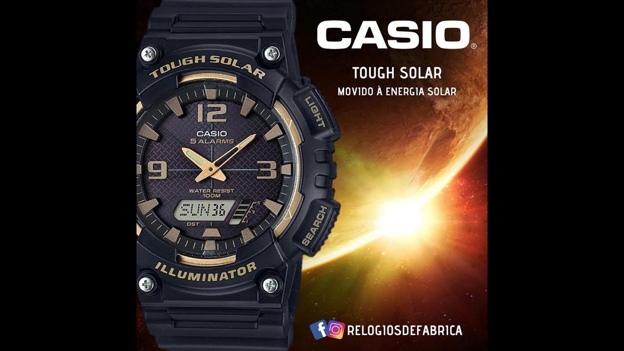 8a310b0f80d RELÓGIO CASIO TOUGH SOLAR MASCULINO AQ-S810W-1A3VDF - Relógios de Fabrica