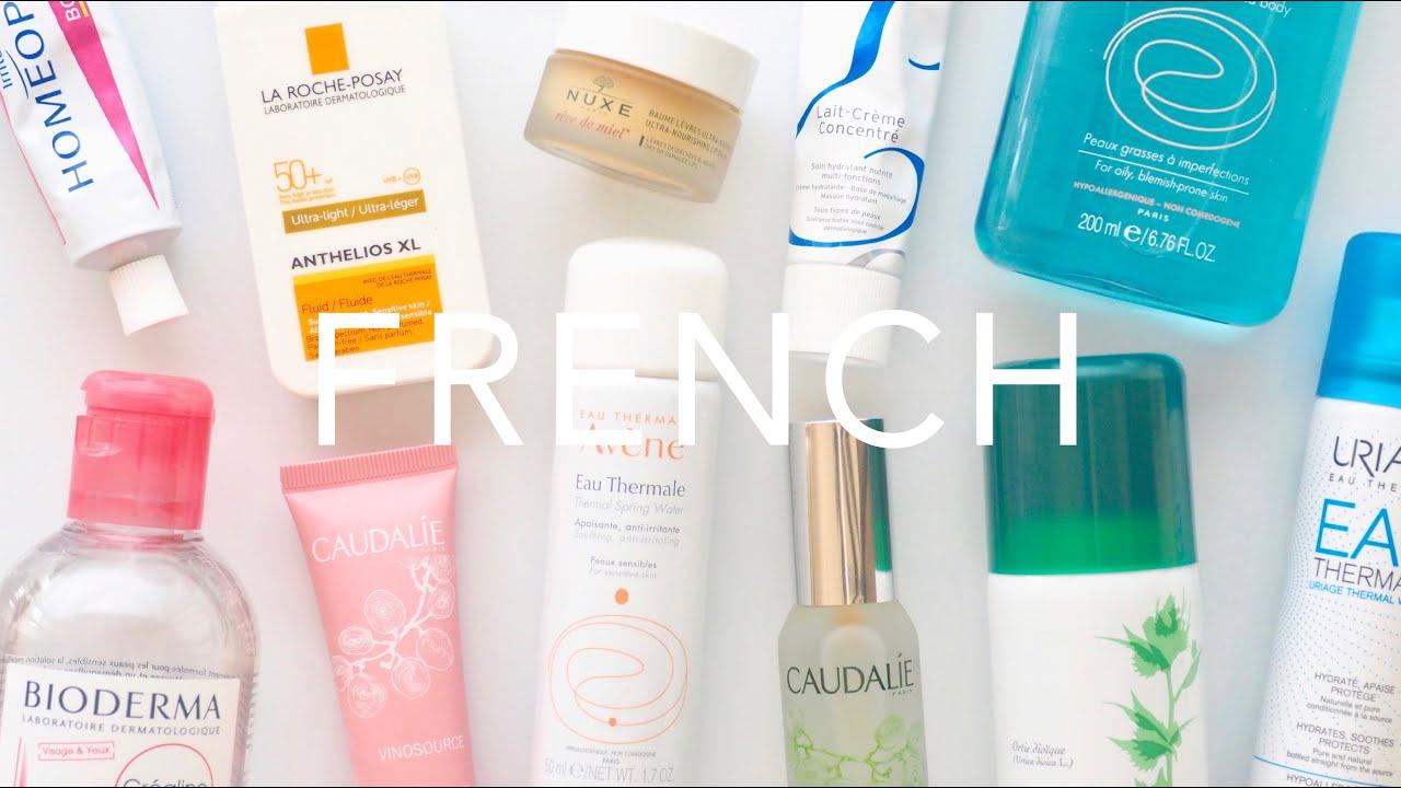 french pharmacy skincare brands