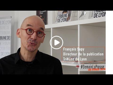 TRIBUNE DE LYON - ETOILE ACPM 2018 - DIFFUSION PRINT - PRESSE GRAND PUBLIC HEBDOMADAIRE RÉGIONALE