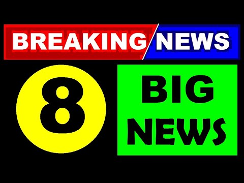 8 BIG BREAKING NEWS STOCK MARKET   Latest Stock Market Today's News And Updates In Hindi By SMkC