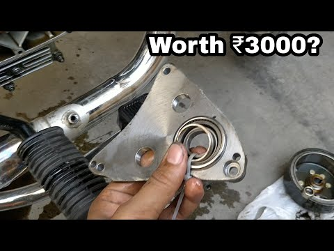 Carberry Vibration Reduction Plate For Royal Enfield | Most detailed Review | Installation