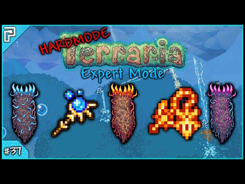 Let's Play Terraria 1.3 Expert Mode (PC) | Want Some More Deaths With That Death? [#37]