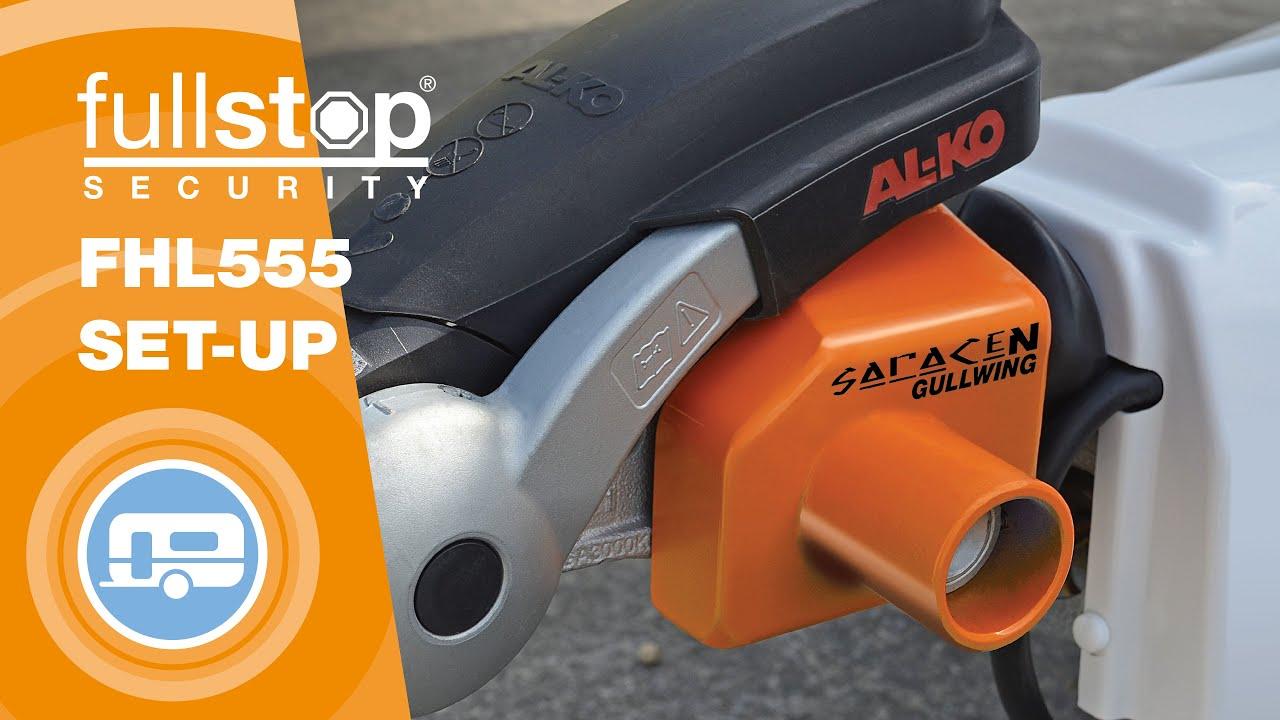 Saracen Gullwing AKS2004 AKS3004 Insurance Approved AlKo Caravan Hitch Lock