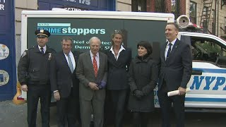NYPD Unveils New Crime Stoppers Truck