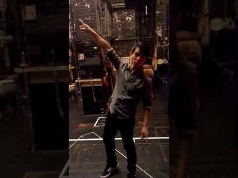 Telly Leung Aladdin takes us for a backstage tour of Aladdin on Broadway