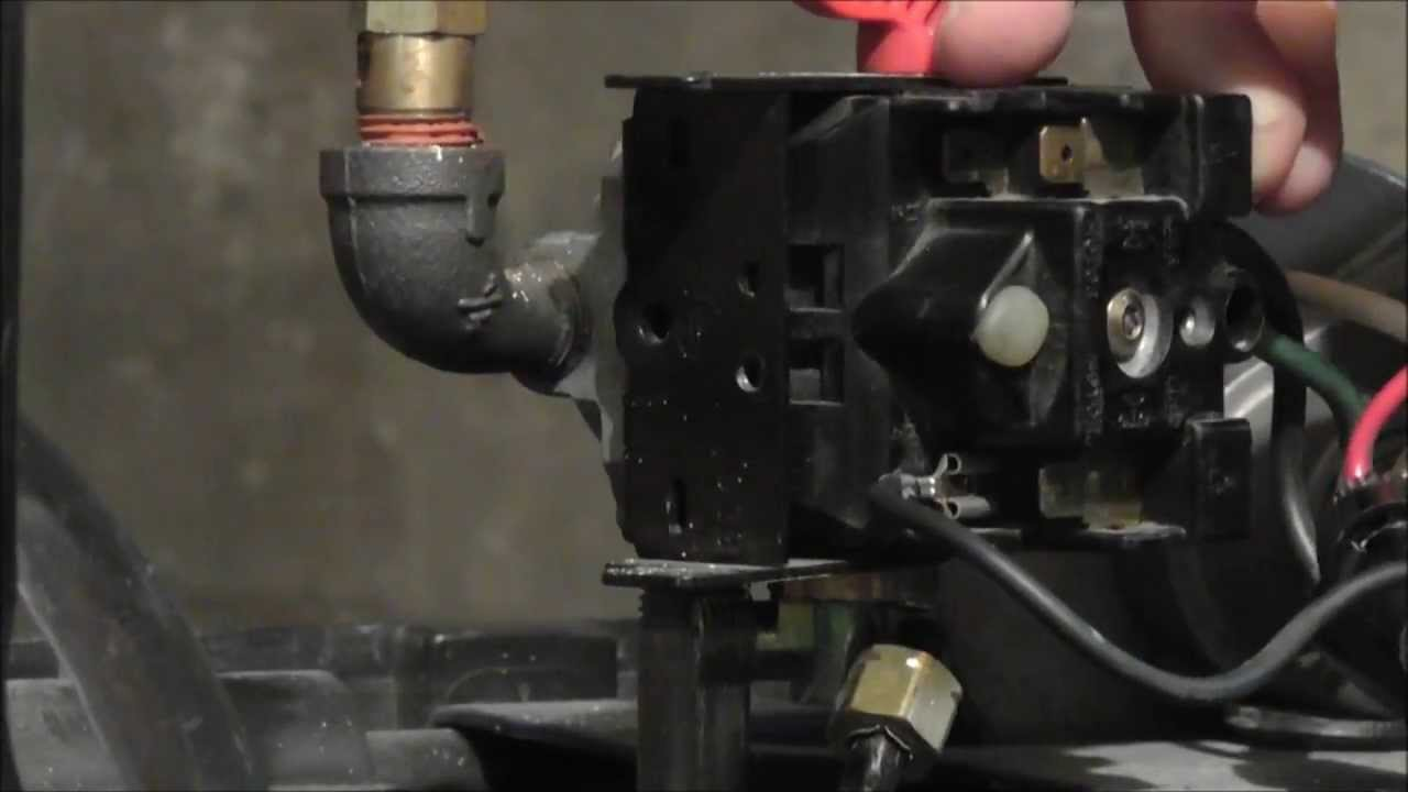 How to Wire a Husky Pressure Switch  YouTube