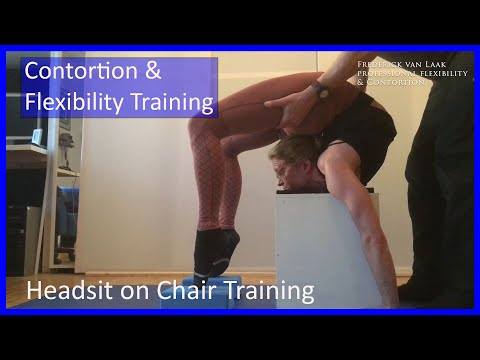 Frederick van Laak Contortion presents: Tutorial 25 - Headsit on chairs and blocks thumbnail