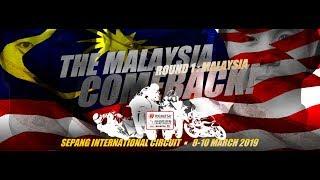 Practice 2 Sepang International Circuit Malaysia 2019 ARRC