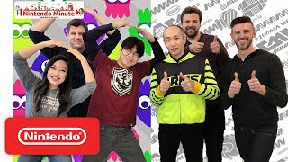 36 Rapid Fire Questions w/ Splatoon 2 & ARMS Producers – Nintendo Minute