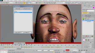 CAT Face Animation in 3ds Max_Part_6