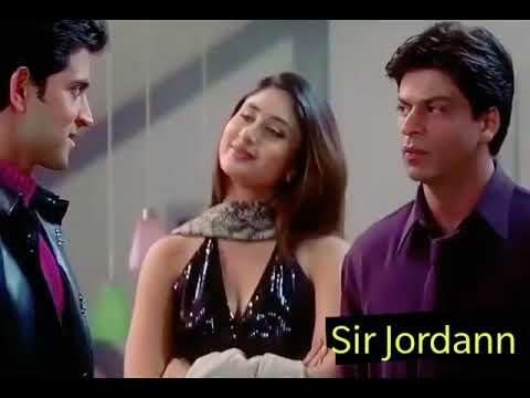 SRK and Hrithik Roshan funny scene in Kabhi Khushi Kabhi Gham