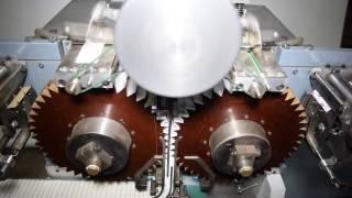 Cigarette Rolling Paper (RYO) Interleaving Double Bobbin With Reminder Sheet Manufacturing Machine