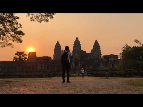 Angkor Sunset, 4 feb 2018