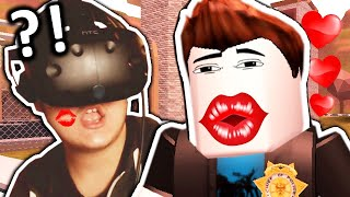 THEY KISSED ME IN ROBLOX VR.. (wth)