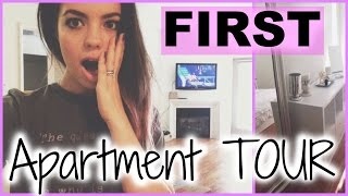 Claudia'sLife: FIRST APARTMENT TOUR!! Thumbnail