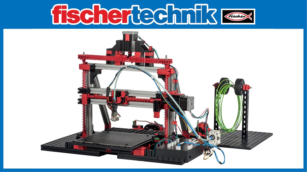 fischertechnik 3d printer 3d drucker youtube. Black Bedroom Furniture Sets. Home Design Ideas