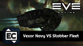 EVE Online - Vexor Navy Issue VS Stabber Fleet Issue