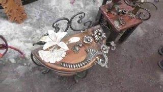 Кузнечная лавка в Тихвине(Более подробно познакомимся с художественной ковкой - изделиями, которые видели на проводах Масленицы..., 2016-03-16T01:18:39.000Z)