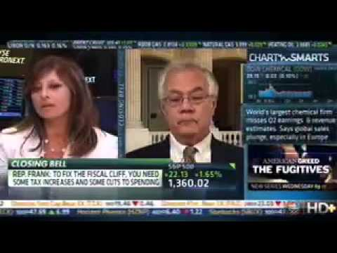 Barney Frank Flips Out on Maria Bartiromo