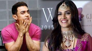 WATCH| Diwale actress Kriti Sanon has a special request for Aamir Khan!