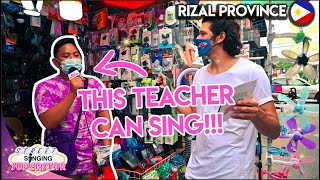 Asking FILIPINOS to Sing ?! | Rizal Province