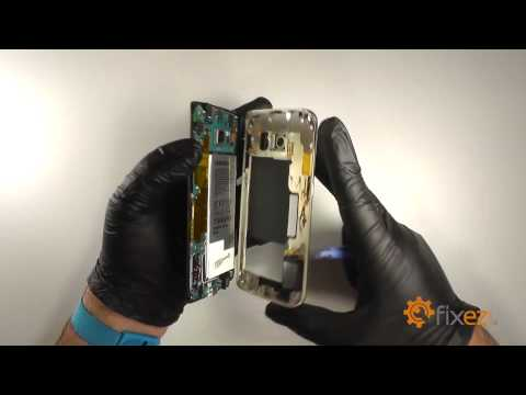 Samsung Galaxy S6 Edge Battery and Inductive Charger Repair - Fixez.com