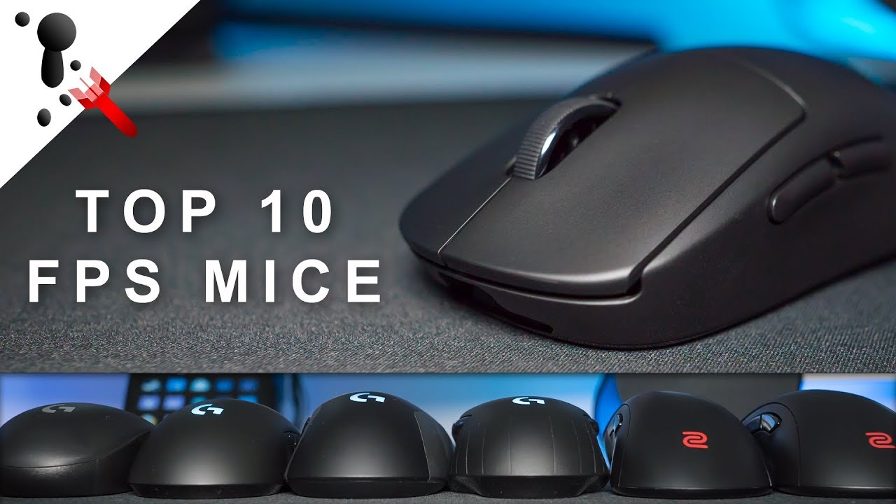 e9693085a9d Top 10 Mice for 2018 & early 2019 (CS:GO, Battlefield, COD, Siege,  Overwatch, Quake)