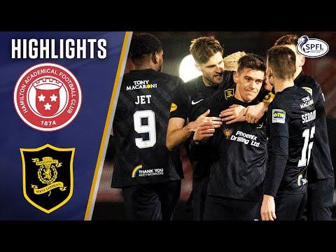 Hamilton Livingston Goals And Highlights